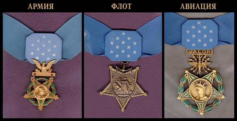 Медаль почёта Вооружённых сил США